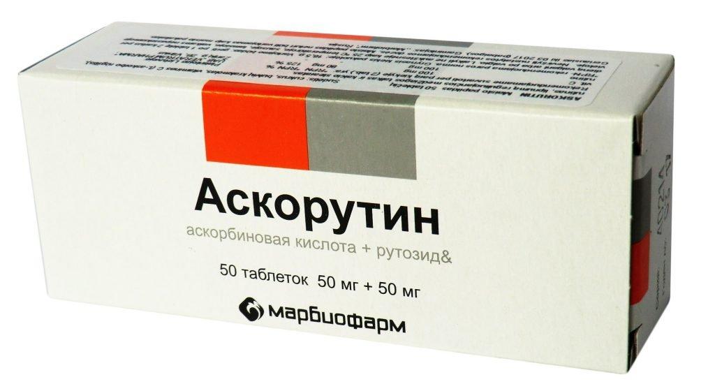 Аскорутин при геморрое - Геморрой аскорутин