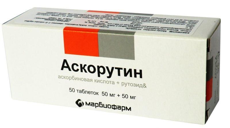 Аскорутин таблетки при геморрое