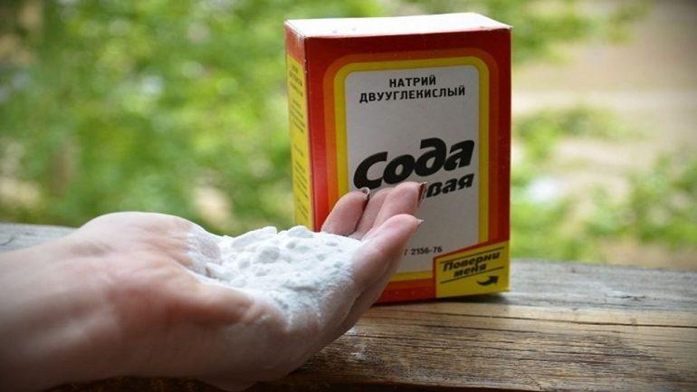 Лечение содой